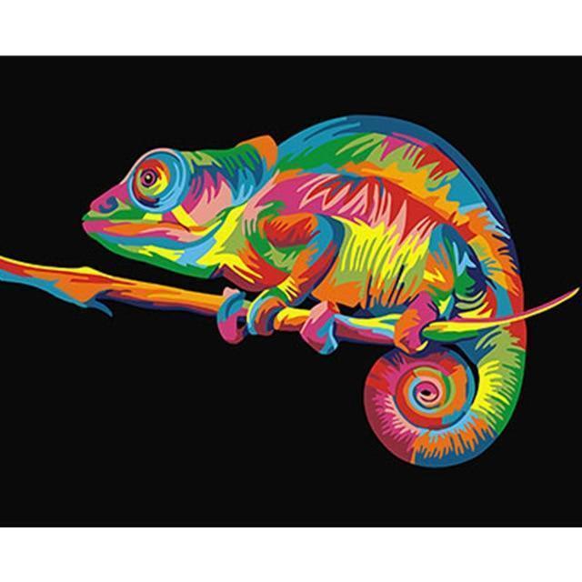 Lizard Diy Paint By Numbers Kits BN95115