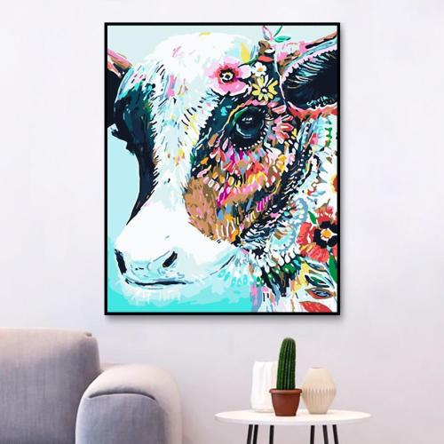 2021 Beautiful Cow Diy Paint By Numbers Kits Uk 2020 Best Hot Sale PH9480