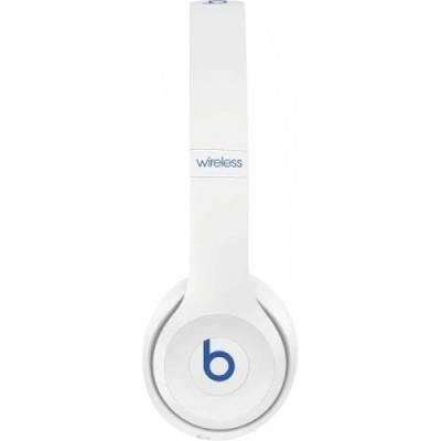 Solo3 Wireless On-Ear Headphones - White red blue