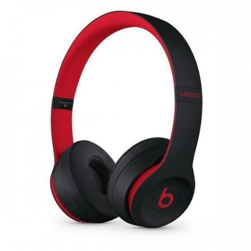 Solo3 Wireless On-Ear Headphones - Black-Red