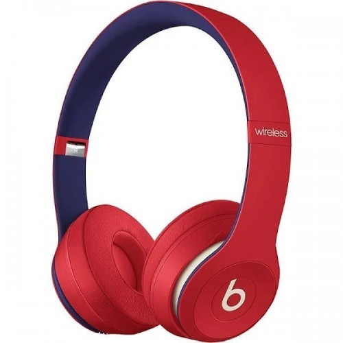 Solo3 Wireless On-Ear Headphones – Red - blue