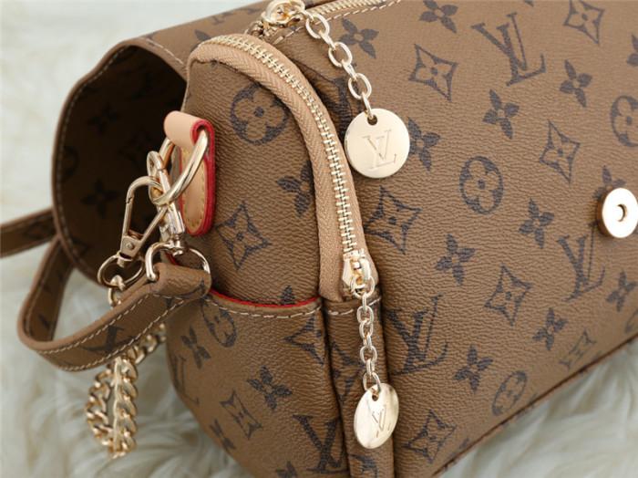 $45-5002# 55 split leather,AAA good quality, no box Size:30X11X18CM