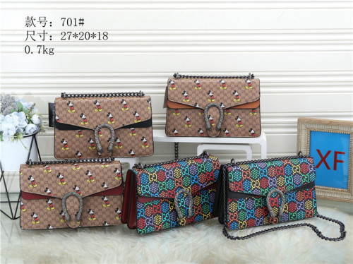 $45-701# 60 offer split leather,AAA good quality, no box size 27X20X18CM