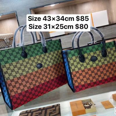 Size 43×34cm $85 Size 31×25cm $80- 0.75kg  offer split leather,AAA good quality, no box