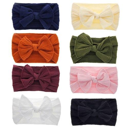 Multicolor Big Bow Headband