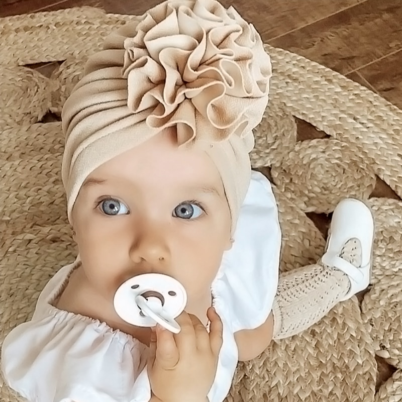 Lovely Flower Baby Hat
