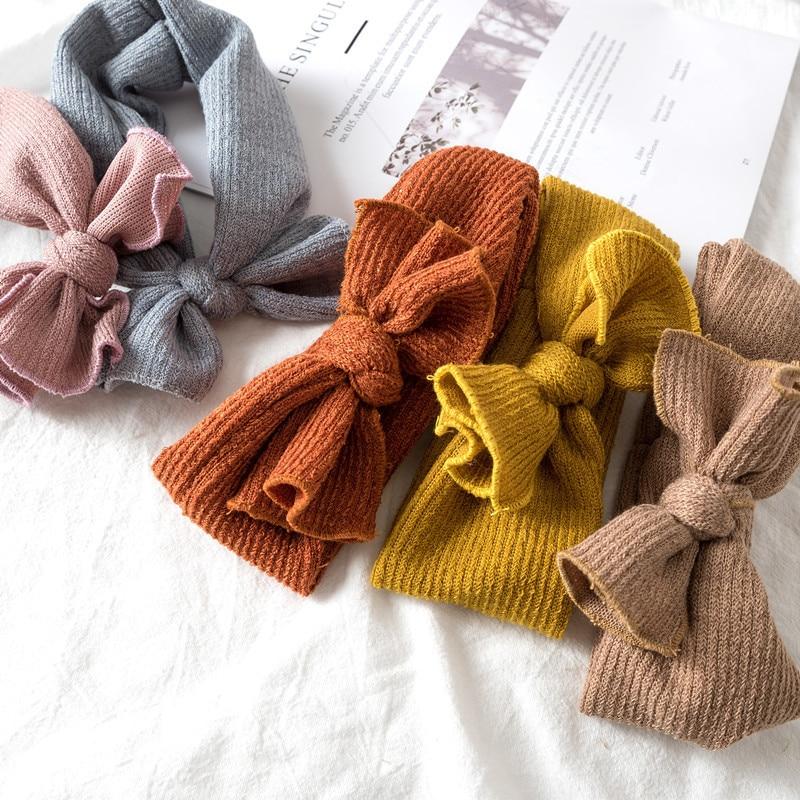 Multicolor Bow Headband
