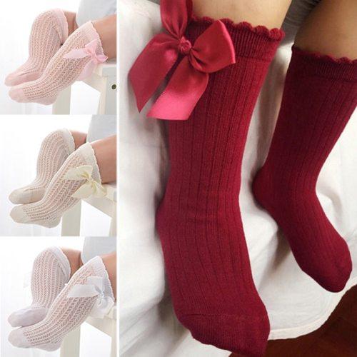 Mesh Bow Sock