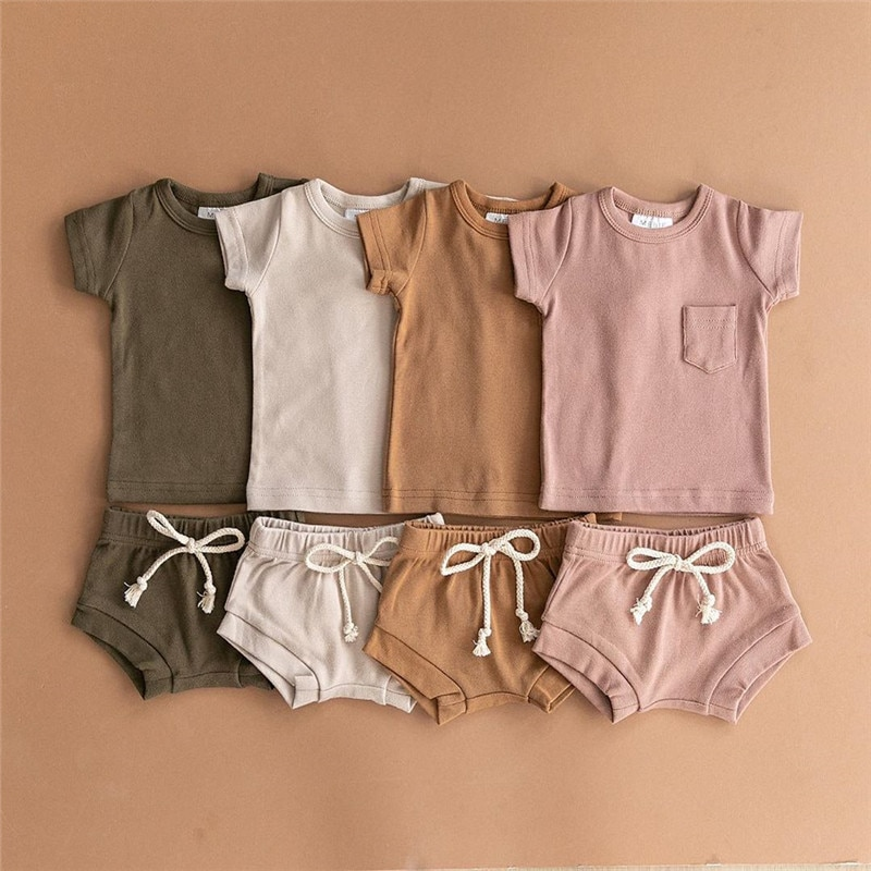 2pcs Short-sleeve Set