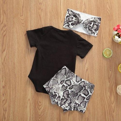 Mini Letter Print Bodysuit