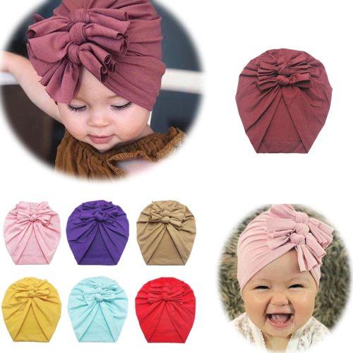 Multicolor Big Bow Hat