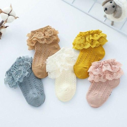 Multicolor Lace Sock