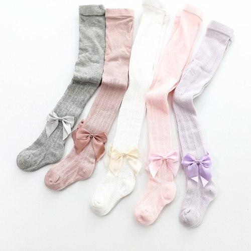 Bow Mesh Tight Sock