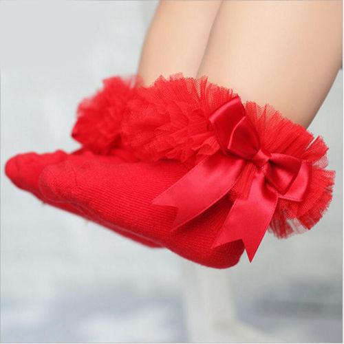 Multicolor Mesh Sock