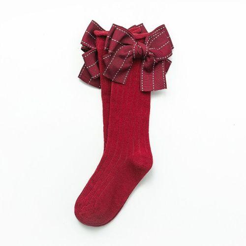 Multicolor Bows Sock