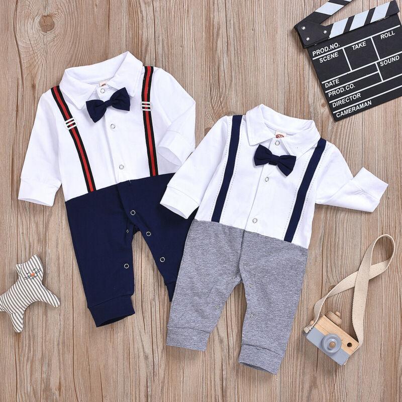 Gentleman Bow-tie Jumpsuit