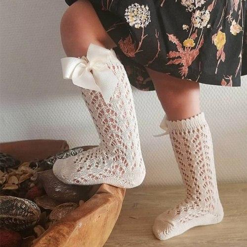Big Bow Spanish Style Princess Sock