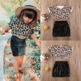 Leopard Short-sleeve Set