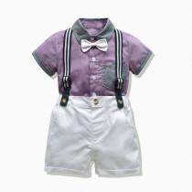 Bow Polo T-shirt Set