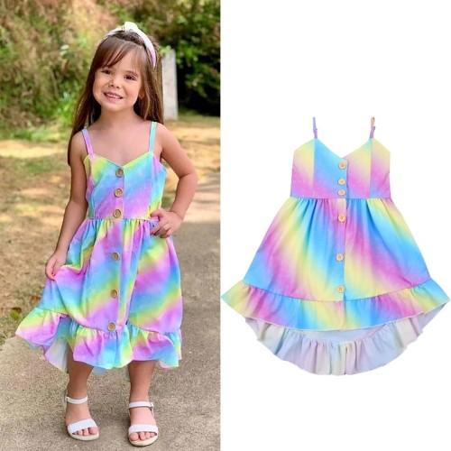 Tie dye Sling Dress