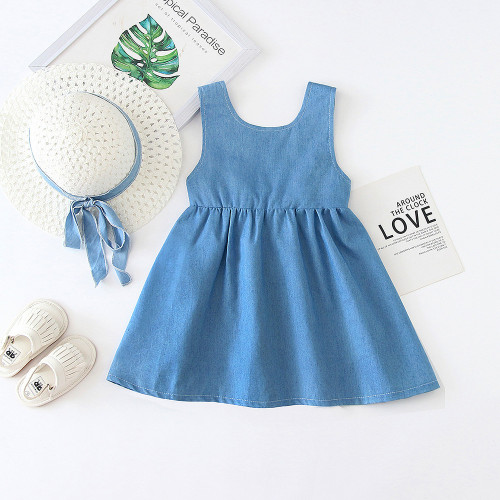 Big Bow Sleeveless Dress
