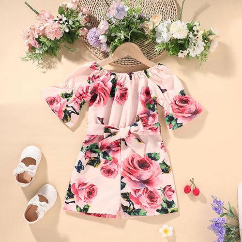 Floral Pring Jumpsuit