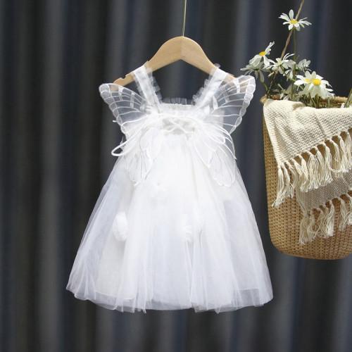 Butterfly Sling Mesh Dress