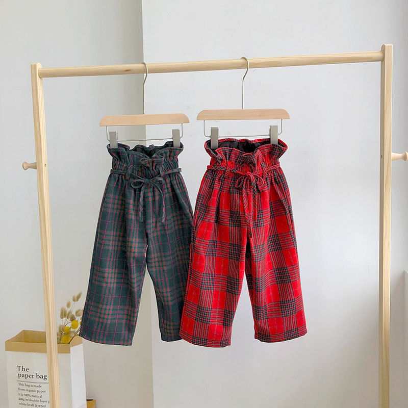Plaid Long Pant