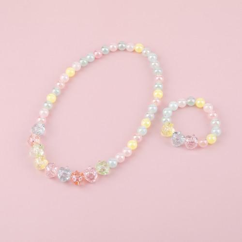 Crystal Strawberry Necklace Bracelet