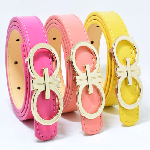 Multicolor Pu Belt