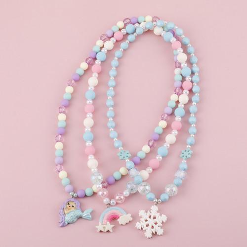 Mermaid Rainbow Necklace