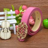 Pink Pu Belt
