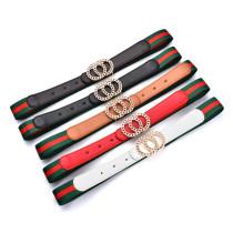Stripe Pu Belt