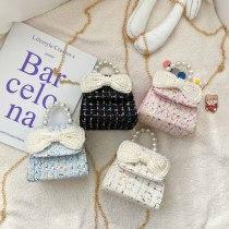 Bow Plaid Handbag