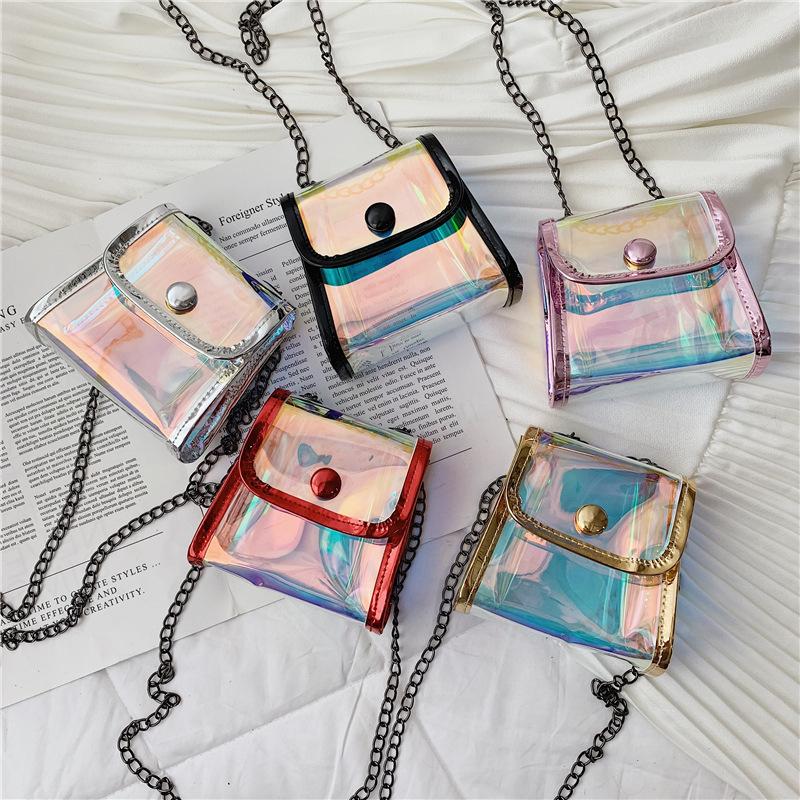 Jelly Shining Straddle Bag