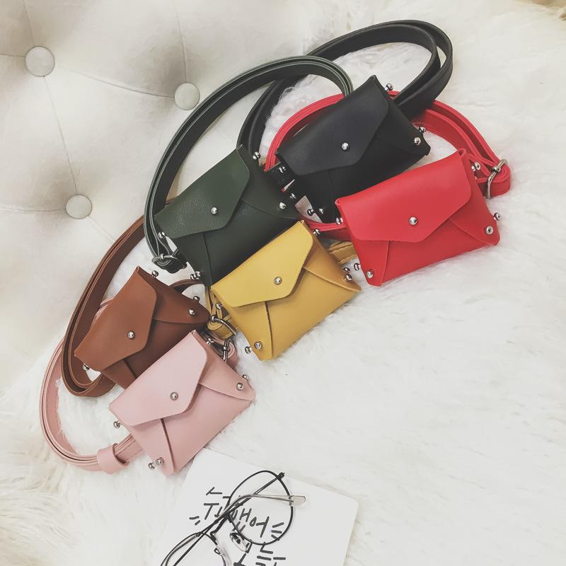 Multi Color Slant Waist Bag