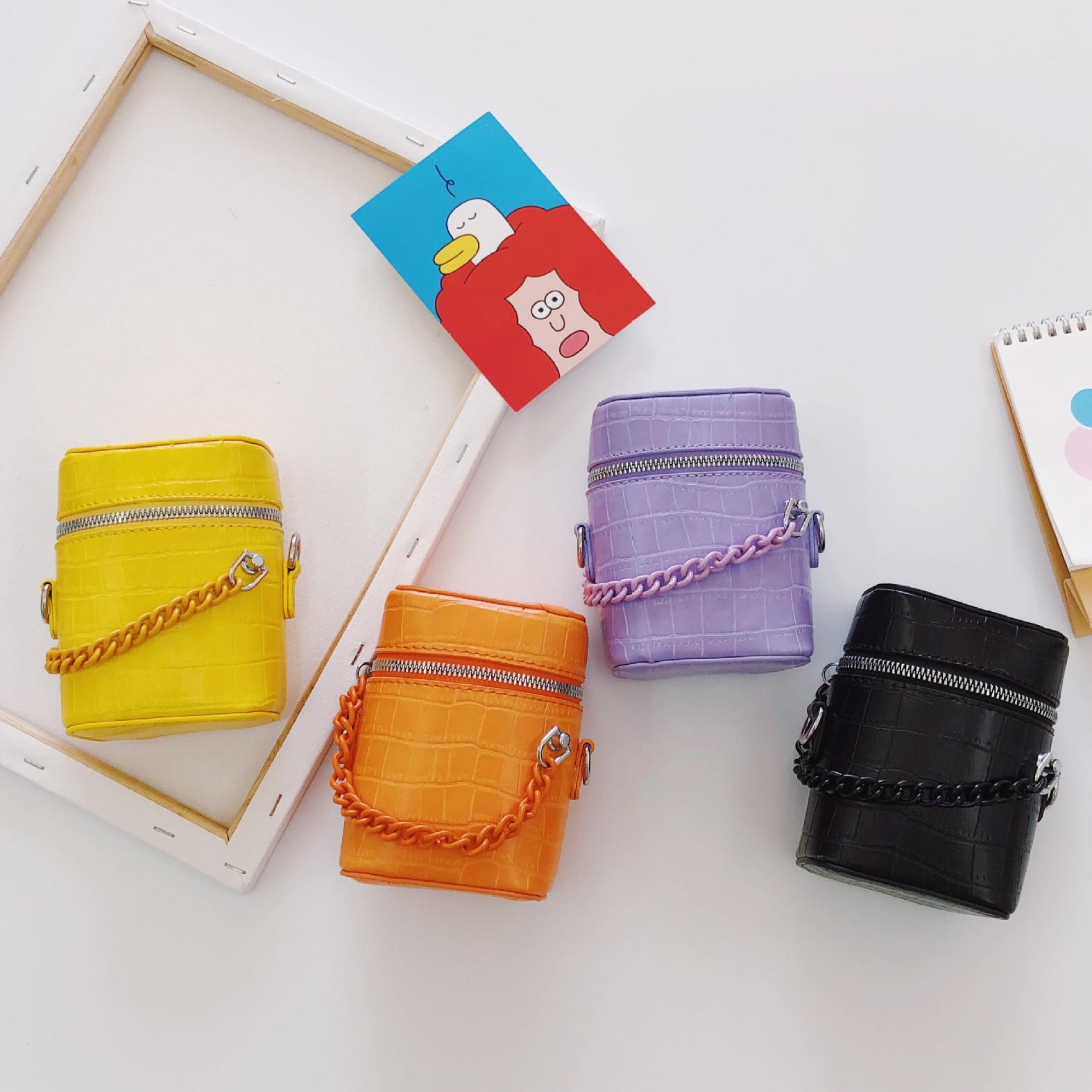 Multicolor Bucket Bag