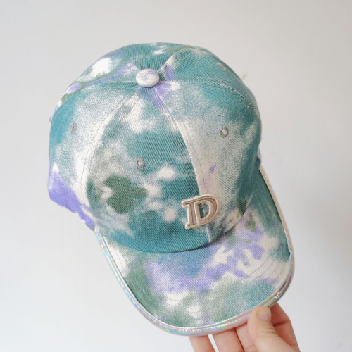 Tie dyed Letter Hat