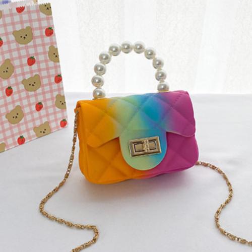 Tie dye Rainbow Pearl Bag