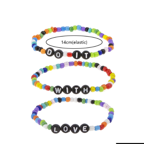Love Elastic Bracelet