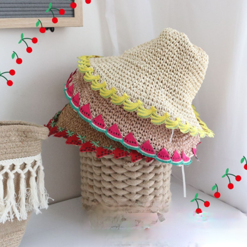Fruit lace hat