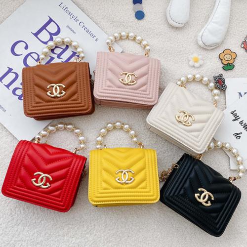 Pearl Checkered Handbag