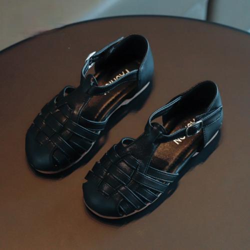 Woven Retro Sandals