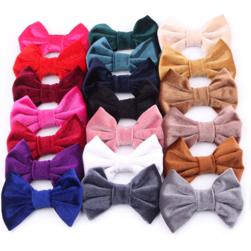 Velvet 3D Bow Headdress