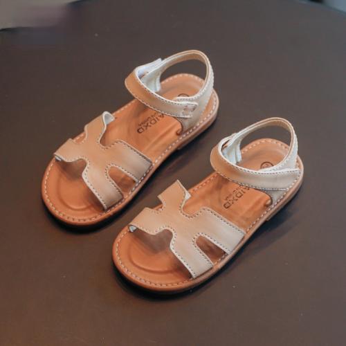 Letter sandals