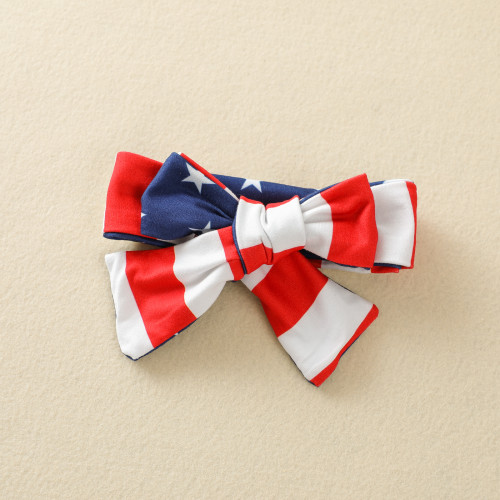 Independence Day Bow Romper