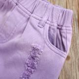 2pcs Plain Tie dye Set