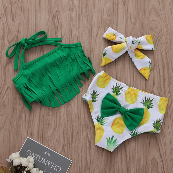 Pineapple Tassel Swimsuit