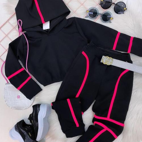 Stripe Hoodie Stripe Set