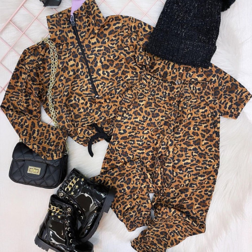 2pcs Leopard Set